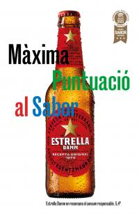 Estrella Damm achieves the highest score in taste at the Superior Taste Awards